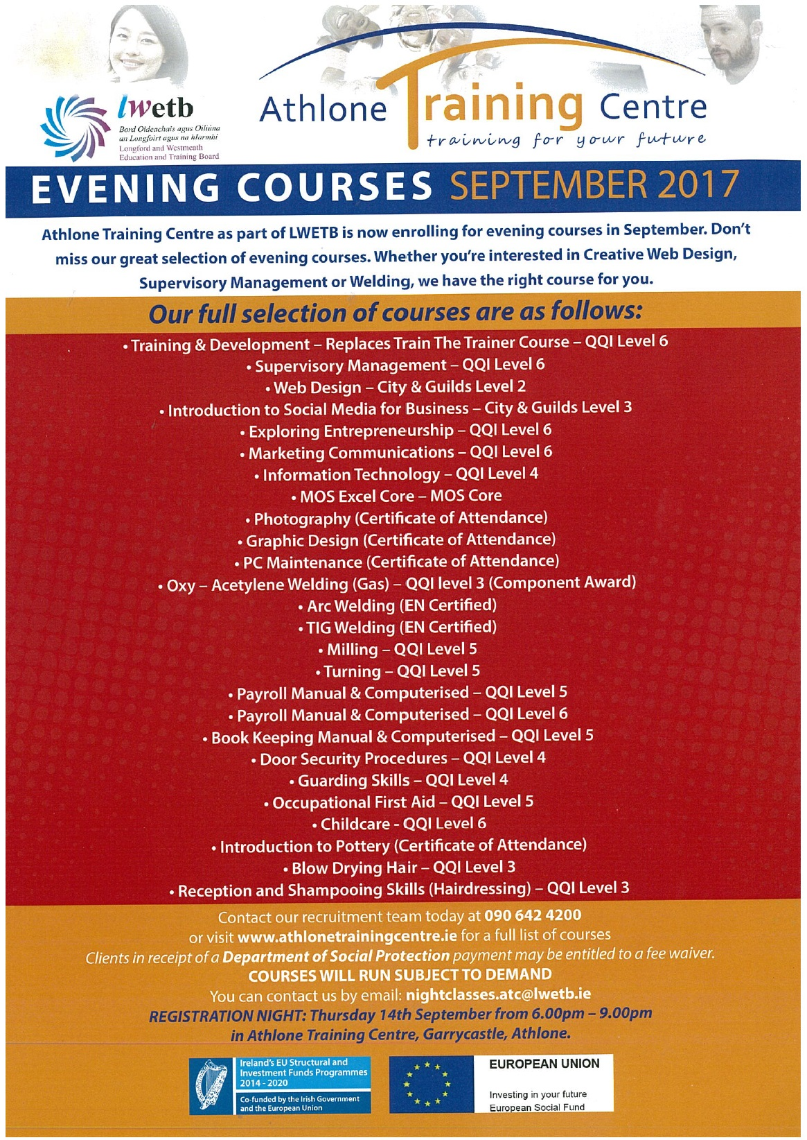 Athlone Even Courses 2