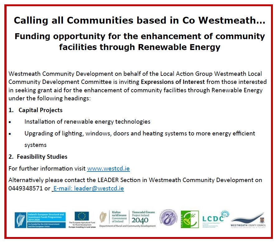 Call for EOI for Renewable 2020
